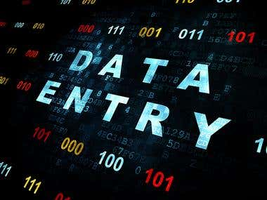 Data Entry & Virtual Assistant etc.