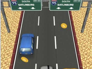 Car Race Game App