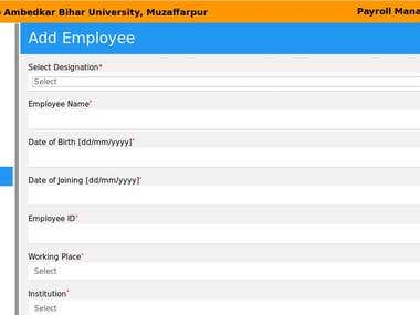 University Payroll Management System
