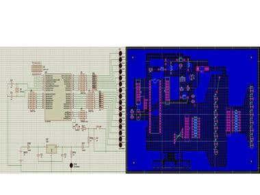 PCB desighning and simulation