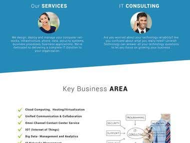 IT consulting Website Design