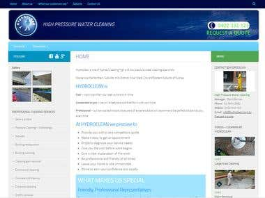 Hydroclean - Wordpress
