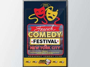 French Comedy Festival in New York City