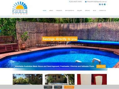 Affordable Pools - Wordpress