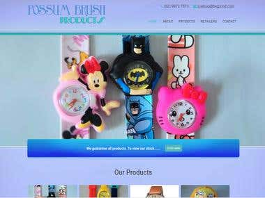 Possum brush - Wordpress