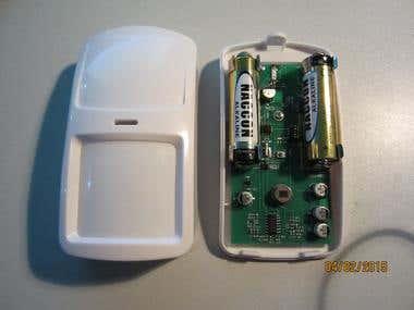 915MHz motion sensor
