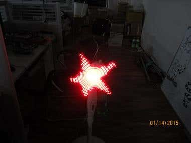LED stripe controller