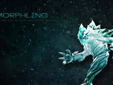 Dota 2 Morphling Hero Wallpaper