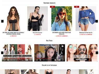 """Shopify Store """"YESIWEAR.SHOP"""""""