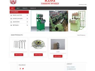 http://kingnarrowspares.com