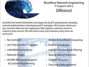 BlueWave Intro Sales Sheet