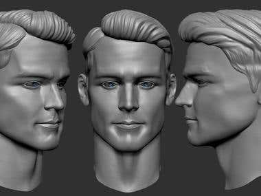 Face's sculpt