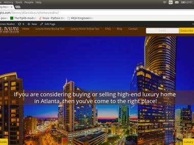 Atlanta Luxury Homes Realtor