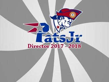 Logo for PatsJr for Elections campaign in Panama 2017 - 2018
