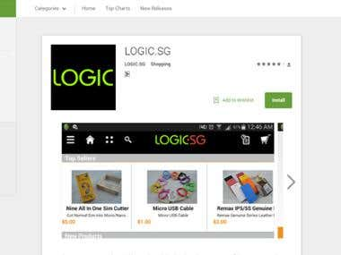 Logic Shopping App
