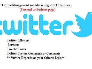 Twitter Marketing or Twitter Management