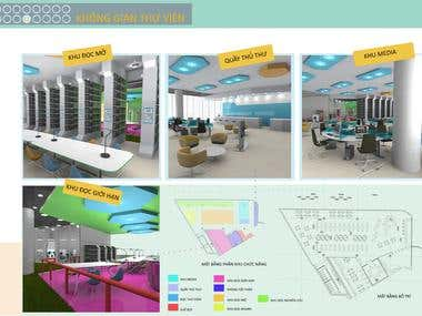 Interior Design for Multimedia School