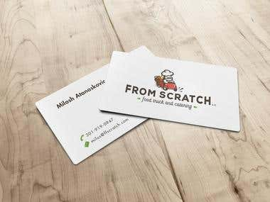 From Scratch - Full Brand identity