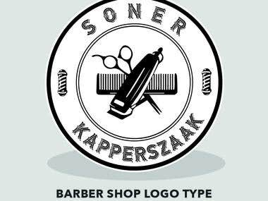 Logo for a Barber Shop