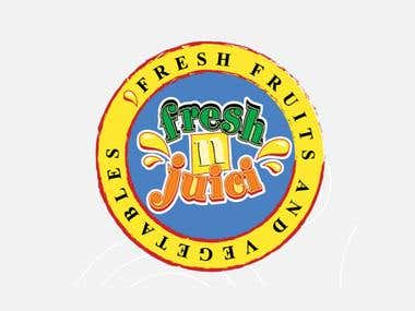 Fresh and Juicy Logo