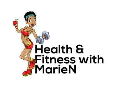 Design a logo for a health / fitness blog