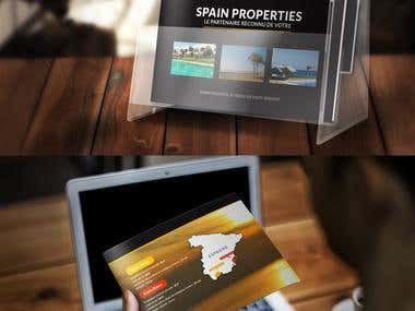 Brochure Design for Luxury Real Estate Company