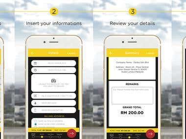 DeDao - iOS / Android Delivery App