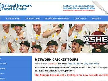 Network Cricket Tours