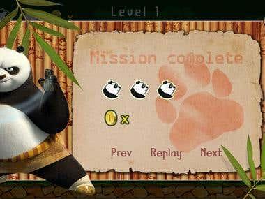 Mobile Game (PandaJack 2015)
