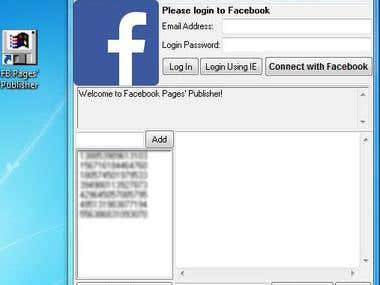 Facebook Pages' Publisher