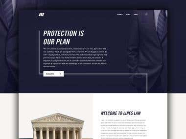 Lines Law Website