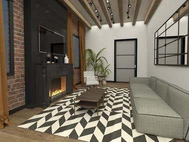 House Interior Design2_Michigan U.S.