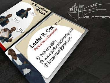 Laster business card