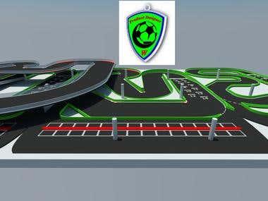 Convert 2D to 3D Track Race