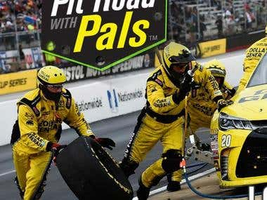 Pit Road with Pals - Pit Stops