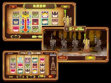 Chinese Ancient God Slot Game