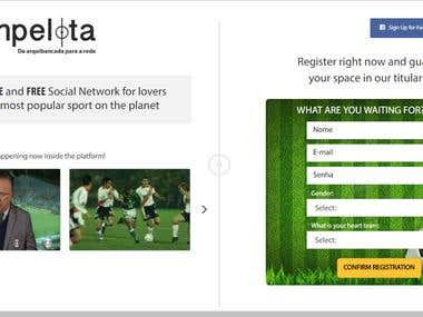 Donpelota PSD to HTML and WebSite Development