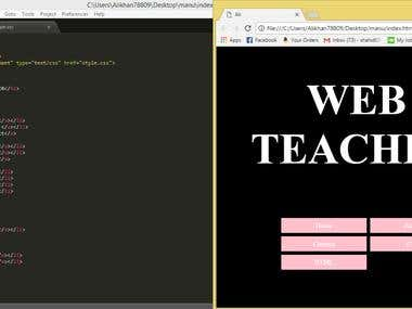 Web Design with html & CSS