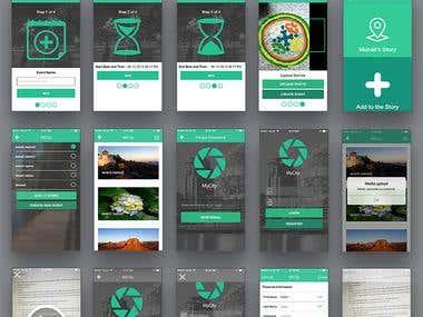 Photo Event app