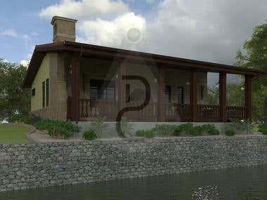 RUSTIC BUILDING - 3D Modeling & CAD