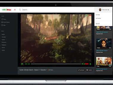 Video Moja - Web App