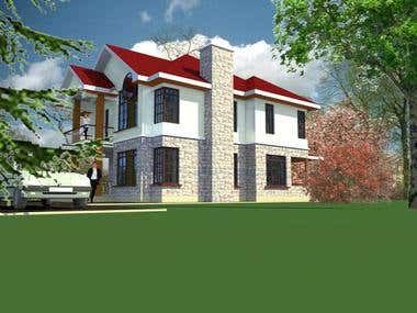 Architectural designs for various clients within my Country