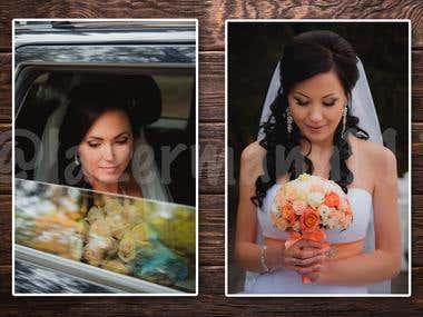 Portrait retouching and color correction