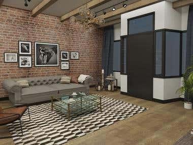 House Interior Design_Michigan U.S.
