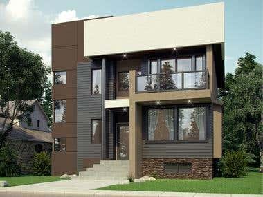 2 Storey Modern Residence