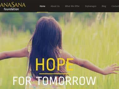Sanasana - Portal for NGO