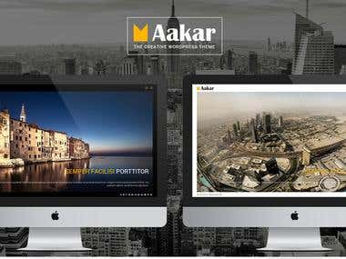 Aakar Wordpress Theme