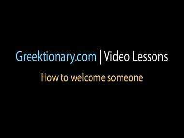 Online guidance for learning Greek