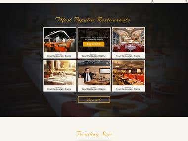 Online Restaurant Booking
