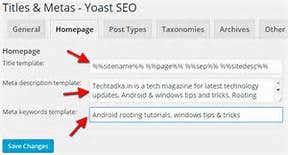 Title & Metas-Yoast SEO